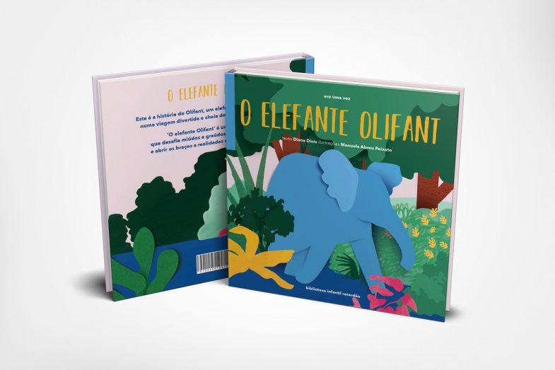 O elefante Olifant_capa_DEF_crowfunding